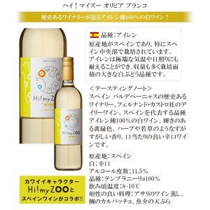 ワイン ワインセット 送料無料 かわいいワインボトルのワインセット ハイマイズーとオーガニックワイン 赤白4本セット 赤ワイン 白ワイン 辛口|viva-vino|03