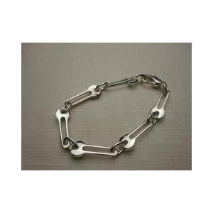 ブレスレッド イタリア製アクセサリーシルバーデザイン鍵 メンズブレスレッド 190mm|vivace-yokohama