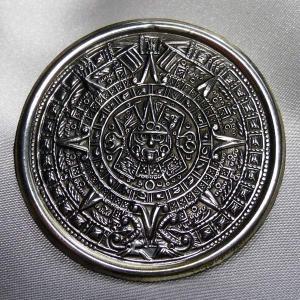 シルバーブローチ メキシコ製 古代歴  純銀 中|vivace-yokohama