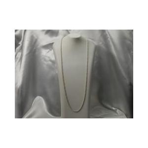 ネックレス スペイン製アクセサリーシルバー・ロングネックレス ロープチェーン 70cm|vivace-yokohama