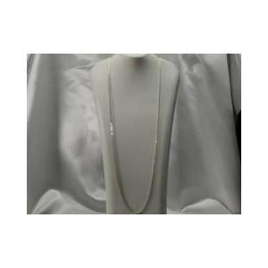 ネックレス スペイン製アクセサリー アズキシルバー925ネックレスチェーン 70cm|vivace-yokohama
