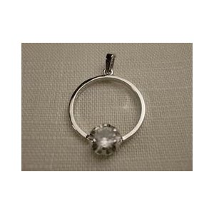 シルバーペンダントトップ スペイン製 指輪 クリスタル|vivace-yokohama