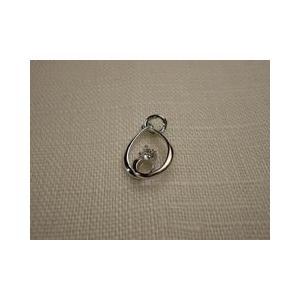 シルバーペンダントトップ スペイン製 動的ダイヤモンド|vivace-yokohama