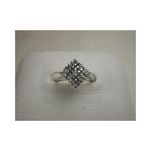 シルバーリング スペイン製 ダイヤ型 10号|vivace-yokohama