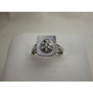 シルバーリング スペイン製 ダイヤモンドの懐石料理(A) 12号|vivace-yokohama