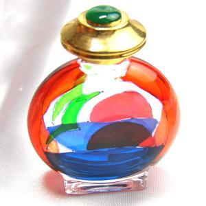 ガラスの香水入れ イタリア製 雑貨 E|vivace-yokohama