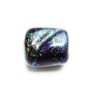 ビーズ ドイツ製手作りガラスDIYビーズ スカラベ ブルー系|vivace-yokohama
