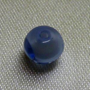 ドイツ製ビーズ 球 サファイアカラー 6mm|vivace-yokohama