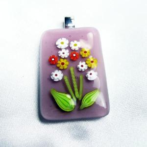 イタリア製 ペンダントトップ 薄紫B|vivace-yokohama