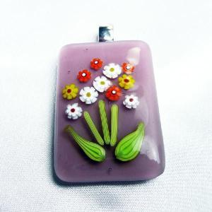 イタリア製 ペンダントトップ 薄紫C|vivace-yokohama