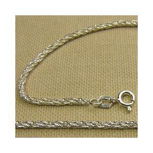 ロープチェーンの純銀ブレスレット スペイン製アクセサリー|vivace-yokohama|02