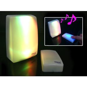 七色に光って呼び出し♪レインボーコールチャイム 送信機&受信機セット|vivaenterplise