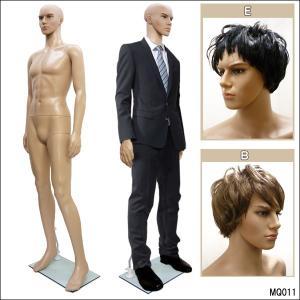 紳士マネキン 軽量 メンズマネキン 男性マネキン 男性 ウィッグ付 【同梱不可】ケン |vivaenterplise