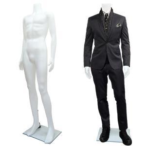 紳士マネキン メンズマネキン 男性マネキン ヘッドレスマネキン 男性 ホワイト 白1|vivaenterplise