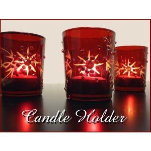 キャンドルリレー キャンドルホルダー クリスマス 3個セット