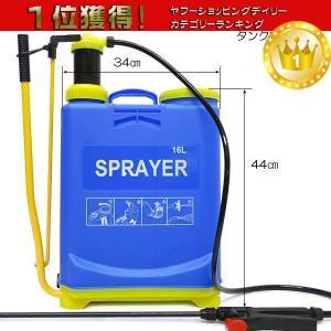 噴霧器 背負式 噴霧器 16L 農薬散布 農薬散布 完成品お届け