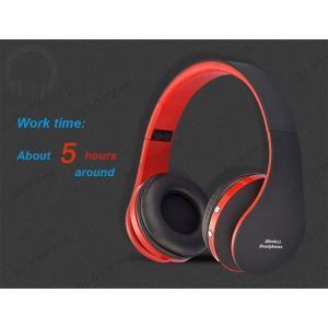 NX-8252 Bluetooth4.0 ワイヤレス ヘッドホン 通話 ステレオ 軽量 折り畳み式 ...