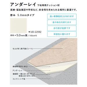 サンゲツ アンダーレイ 下地専用クッション材 厚み 5.0mmタイプ UD-1729(UD-4772) 5.0mm厚 180cm巾