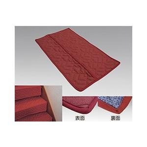 テープいらずの階段養生用当てぶとん ●裏地にノンスリップ生地を使用した階段養生材です。  材質 表地...
