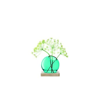 LSA(エルエスエー) フラワーベース(花器) ブルー 高さ14.5cm AXIS G1364-02-531 vivaldistr