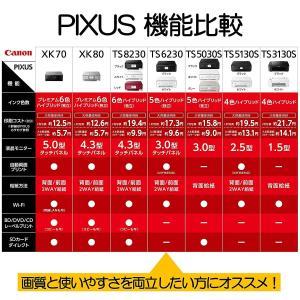 旧モデル Canon プリンター インクジェット複合機 PIXUS TS6230 ブラック (黒)|vivaldistr