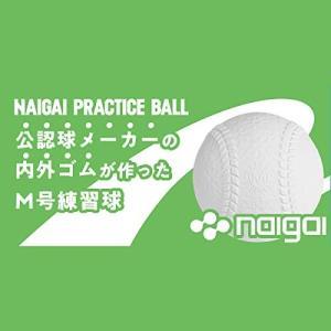 内外ゴム(NAIGAI) プラクティスボール M号 1ダース(12球) vivaldistr