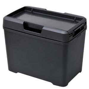 セイワ(SEIWA) 車用 ゴミ箱 ダストボックス L ティシュ おもり付き ブラック W733|vivaldistr