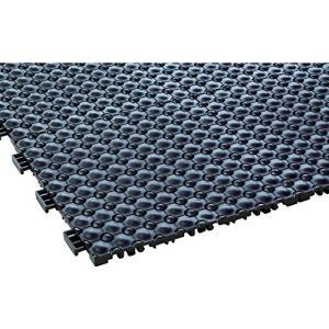 テラモト フミンゴFW ブラック MR-087-076-7 疲労軽減マット|vivaldistr