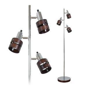フロアライト 3灯 フロアスタンドライト LED対応(GT-DJ-01B) フロアランプ 間接照明 電気スタンド LEDフロア仕事 読書ラン|vivaldistr