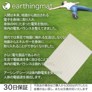 riraku-life(リラクリフェ) 大地と繋がるアーシング健康法用 アーシングコットンシーツ (ホワイト, 200cm×140cm)|vivaldistr