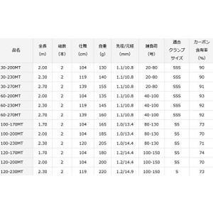 ダイワ(DAIWA) 18 剣崎 MT 120-200MT vivaldistr