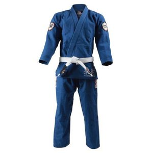ISAMI イサミ×リバーサル柔術衣 ワールドモデル(上下セット) 青 A-0 vivaldistr