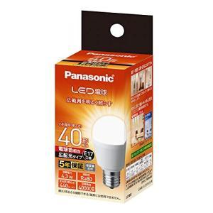 パナソニック LED電球 口金直径17mm 電球40W形相当 電球色相当(4.3W) 小形電球・広配光タイプ 密閉器具対応 LDA4LGE1|vivaldistr