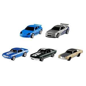 ホットウィール ワイルド・スピード 5カーパック フォード 67マスタング(1台) シボレー 70モンテカルロ(1台)|vivaldistr