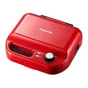 Vitantonio ワッフル&ホットサンドベーカー VWH-50-R 焼き型2種付き vivaldistr