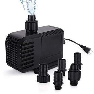 水中ポンプ 小型 110v 水中だけ用 水槽水循環 水族館給水 新型 吐出量1100L/H 最大揚程1.2M ミニポンプ vivaldistr