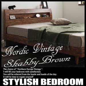 ベッド ダブル 北欧ベッド すのこベッド ポケットレギュラーマットレス付き|vivamaria