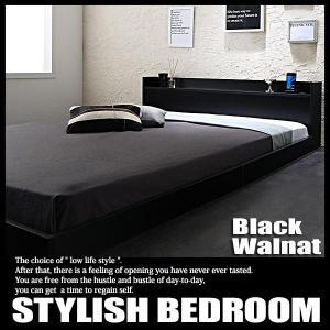 ベッド セミダブル ローベッド ポケットハードマットレス付き|vivamaria