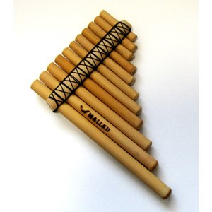 【MALLKU ANTARA 11】ペルー民芸品 アンタラ(1列 x 11管)スモールサイズ(小)マルク社|vivas
