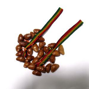 チャフチャス(2個)セット・ペア(木の実)アソート 紐の色柄指定不可★セミーヤ・木の実使用★ペルー製|vivas