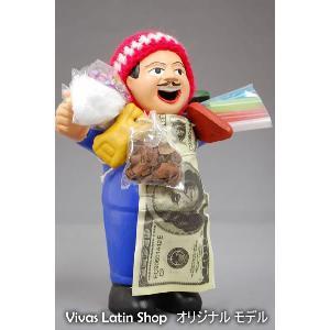 【エケコ人形15cm】【BLUE】当店VIVAS限定モデルのエケコ人形 ブルー(青色)ペルー直輸入|vivas