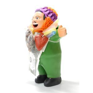 【エケコ人形15cm】【GREEN】当店VIVAS限定モデルのエケコ人形 グリーン(緑色) ペルー直輸入|vivas