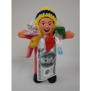 【エケコ人形15cm】【PINK TYPE:2】当店VIVAS限定モデル ピンク色(もも色)ペルー直輸入|vivas