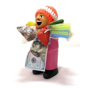 【エケコ人形15cm】【PINK TYPE:5】当店VIVAS限定モデル ピンク色(もも色)ペルー直輸入|vivas