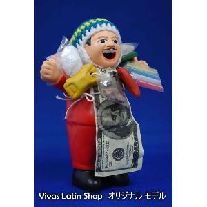 【エケコ人形15cm】【RED】当店VIVAS限定モデルのエケコ人形 レッド(赤)ペルー直輸入|vivas