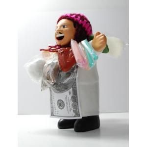 【エケコ人形15cm】【WHITE】当店VIVAS特別企画、限定モデルのエケコ人形 ホワイト(白色)ペルー直輸入|vivas