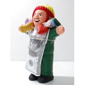 ★EKEKO 18cm TYPE2★エケコ人形・タイプ2 約18cm アソート色の指定ができません 顔にホリのないタイプのエケコ人形  ペルー製|vivas