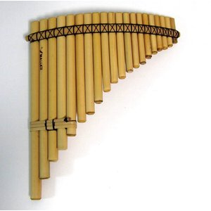 【MALLKU FLAUTA DE PAN 20】アンデスの民族楽器 パンフルート 1列20管 芦製 マルク社|vivas