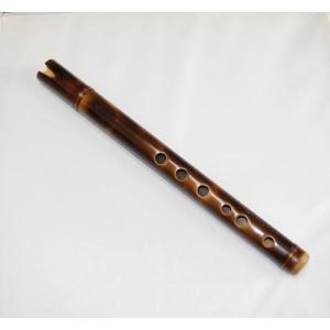 マルク社 竹製 簡易 ケーナ 笛 QU04 焼き色 ペルー製|vivas