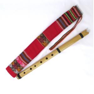 マルク 竹製 簡易 ケーナ・ケーナーチョ 長い笛(E〜F管) QU09 ペルー製|vivas
